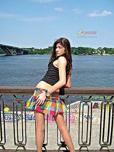 Katerina in stockings upskirt pix set