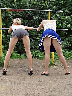 Lesbian teens upskirt hq