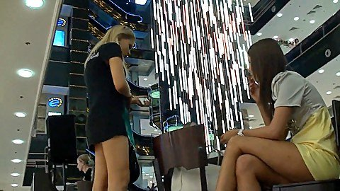 Shopping mall sexy upskirt videos
