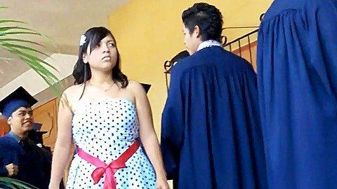 Latin girls flash prom upskirts