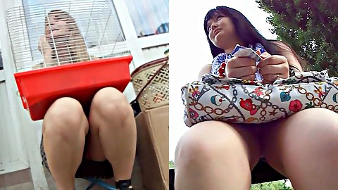 Sitting upskirt pictures