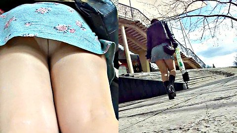 Very nice upskirt compilation