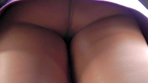 The quick peek of the babes upskirt